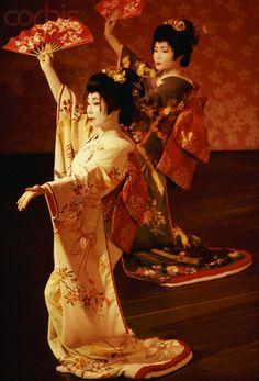 Japanese fan dancers