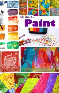 Paint, paint & more paint.  Lots of different ways to paint.