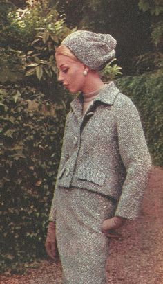 Pierre Balmain by Classic Style of Fashion (Third), via Flickr 1963