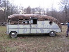 4 Sale 1947 Packard Prigg Motorhome  This would be sooo cool restored!!