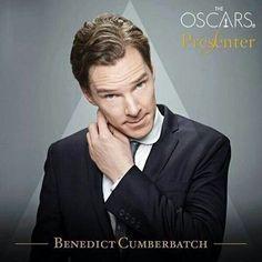 Benedict Cumberbatch .. Tonight on the Oscars (: