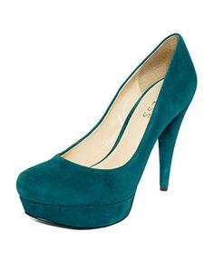 GUESS Women's Shoes, Adriena2 Platform Pumps - Pumps - Shoes - Macy's