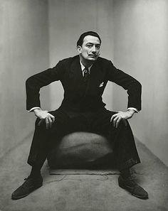 Salvador Dali by Irving Penn, 1947