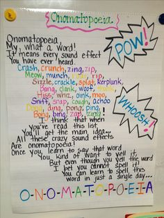 Onomatopoeia poem! Love it!!