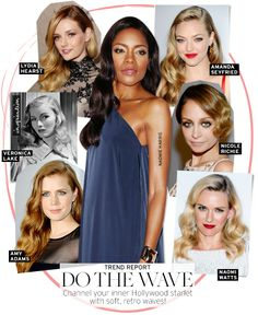 Trend Report: '40s Waves - Celebrity Style and Fashion from WhoWhatWear