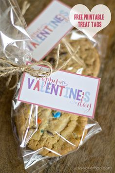 Valentine's Day Free Printable Treat Tags