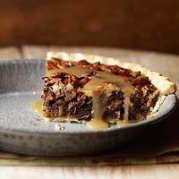Chocolate Chunk and Caramel Pecan Pie