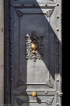 Charcoal Gray Front Door