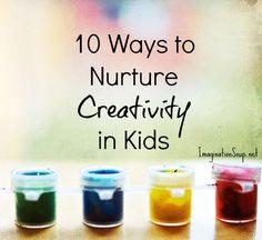 10 Ways to Nurture Creativity in Kids by Peter H. Reynolds
