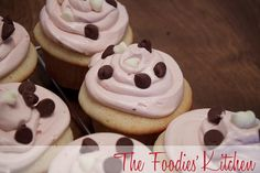 Vanilla Yogurt Cupcakes with Roselle Buttercream Frosting by The Foodies' Kitchen, via Flickr