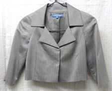lights, closet ebay, blazer, antonio melani, buttercup field, field jacket, light grey, ebay list, 34 sleev
