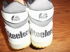 Vintage Pittsburgh Steelers shoes