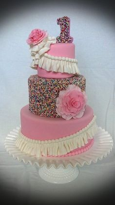 Sprinkles and Ruffles  ~ all edible