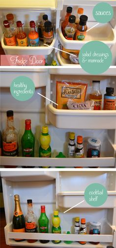 Tips for organizing the refrigerator.