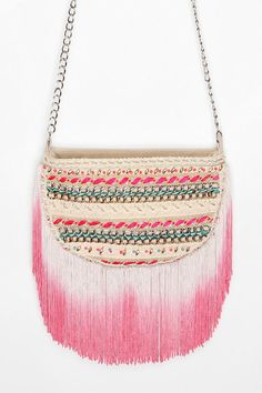 DIY fringe bag