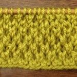 How to Knit the Bee Stitch