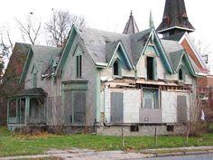 Abandoned house in Syracuse, NY.
