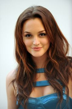 hair colors, long curls, long hairstyles, blair waldorf, makeup