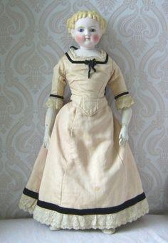 Simon & Halbig Antique German Bisque Lady Doll