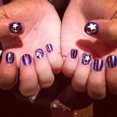 4th if July nails!