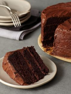 JUST PLAIN OLE....Chocolate Cake