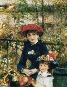 Pierre-Auguste Renoir - On the terrace