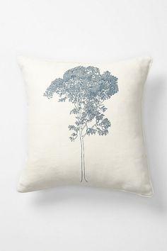 Faux Bois Pillow, Birch - Anthropologie.com