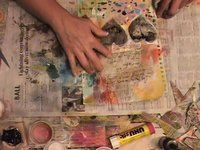 art journal, 33 mix, journal video, robenmari smith, robert smith
