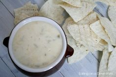 The Best Mexican White Cheese Dip - Only a few minutes to make