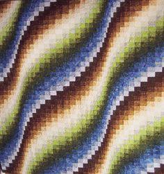 Misty Morning Bargello Quilt Kit