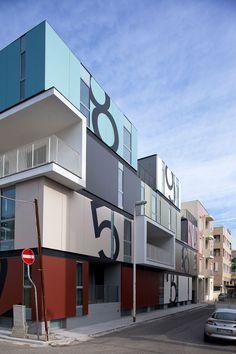 Condominio P in Cagliari (CA), Italia by C+C04STUDIO, ING. FRANCESCO ATZERI