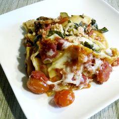 Low-Calorie Crock-Pot Recipes (spinach & mushroom lasagna)