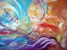"""""""""""power of now"""""""" was awarded the honor Outstanding Abstract by FAV Jury.          You may view your winning entry, along with the other winning paintings at:  http://contest.fineartstudioonline.com/winners/70"""