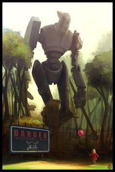 'Robot vs. Girl' by Silver Saaremäel -b