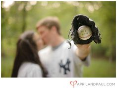 anniversary, engagement photos, basebal engag, baby announcements, baby boys, engagement shots, engagement shoots, engagement pictures baseball, boyfriends