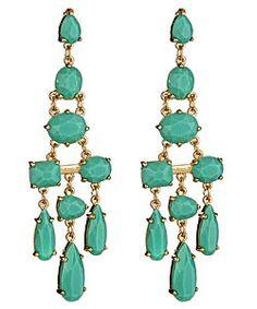 Roberta Chiarella Turquoise Candice Earrings $58