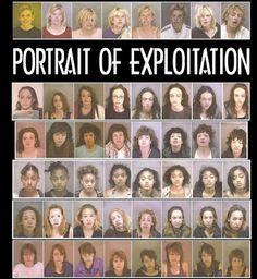 Mugshots of prostitutes.