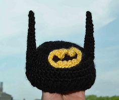 Batman Baby Beanie ~ free pattern
