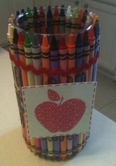 The Friday Fluff Up: Simple Penny-Pinched Teacher Gift - Passionate Penny Pincher