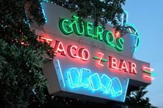 Getting our Tex Mex fix at Guero's Tacos (and it's insane salsa bar). #ourAustin #kennethcole #sxsw