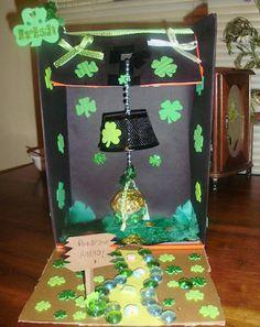 Leprechaun Trap - I miss making these. :(