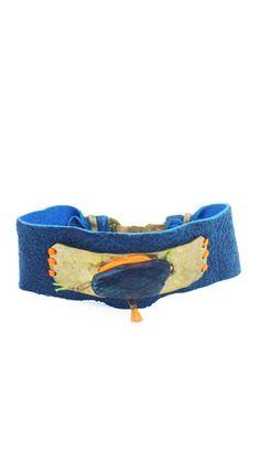 De Petra Nomad leather bracelet