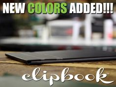 ClipBook™ Magnetic Clipboard by Jimmy John Design, LLC
