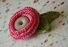 Cute Crochet Brooch!