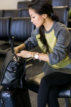 Travel Journal :: Airport style & Packing tips « Wendy's Lookbook