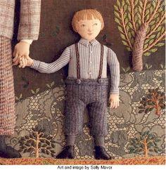 Boys: more inspiration from Salley Mavor · Needlework News | CraftGossip.com