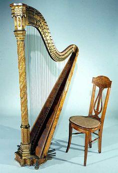 Erard Harp, 1895, Paris, Metropolitan Museum of Art