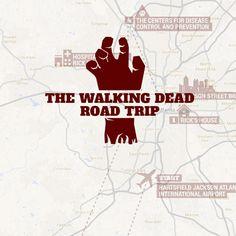 13stop tour, road trips, atlanta walking dead, walking dead film locations, georgia road trip, walk dead, walking dead georgia, the walking dead tour, dead road
