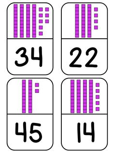 Place Value Domino Math Station!! So many possibilities!