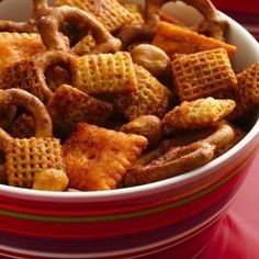 Chex Barbecue Snack Mix is perfect to munch on while grilling!